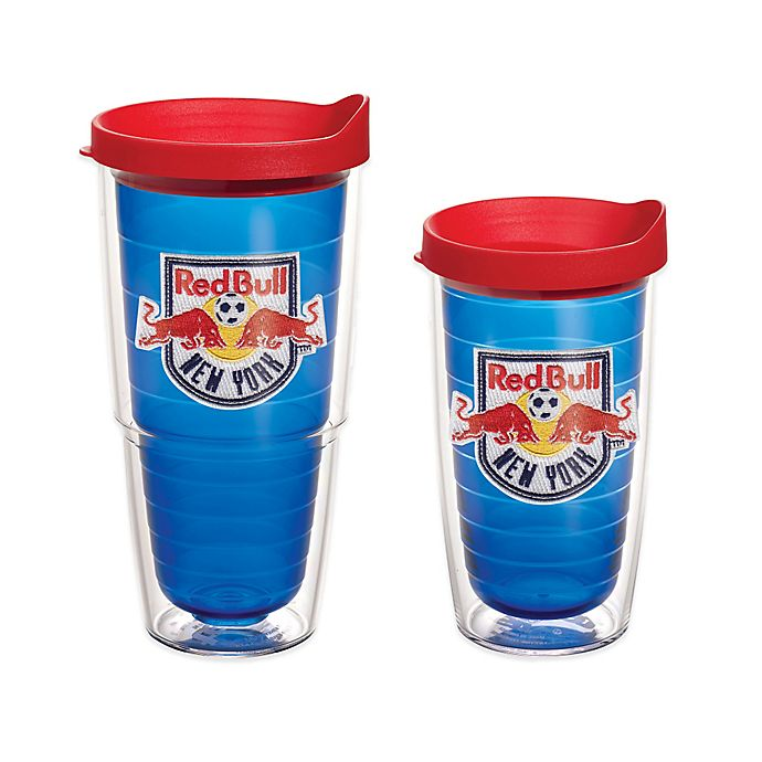 Alternate image 1 for Tervis® MLS New York Red Bulls Tumbler in Sapphire with Lid