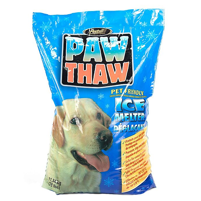 Paw Thaw Pet Friendly Ice Melter 25 Lb Bag Bed Bath Beyond