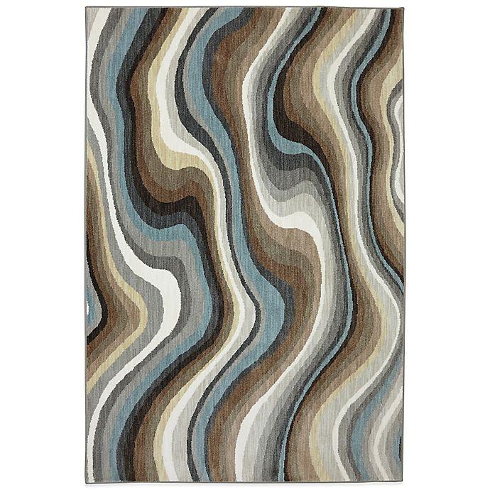 Alternate image 1 for Karastan Euphoria Larkhall 9-Foot 6-Inch x 12-Foot 11-Inch Rug in Granite