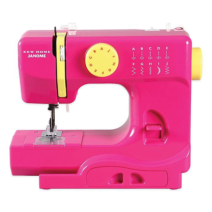 Alternate image 1 for Janome Fast Lane Fuschia Portable Sewing Machine