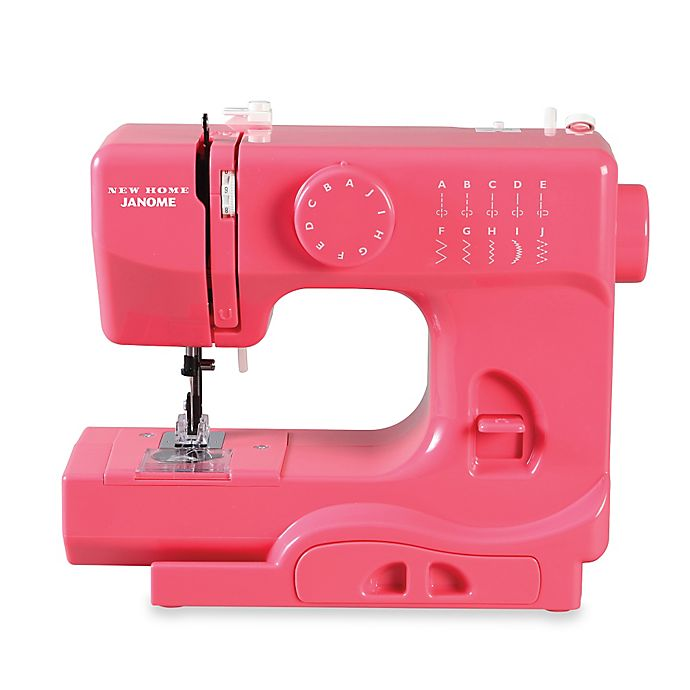 Alternate image 1 for Janome Pink Lightning Portable Sewing Machine