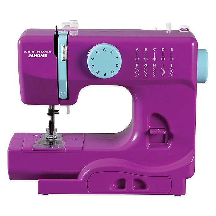 Alternate image 1 for Janome Purple Thunder Portable Sewing Machine