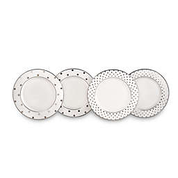 kate spade new york Larabee Road™ Platinum Tidbit Plates (Set of 4)
