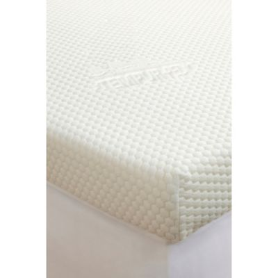 Tempur Pedic Topper Supreme 3 Inch Mattress In White Bed Bath Beyond
