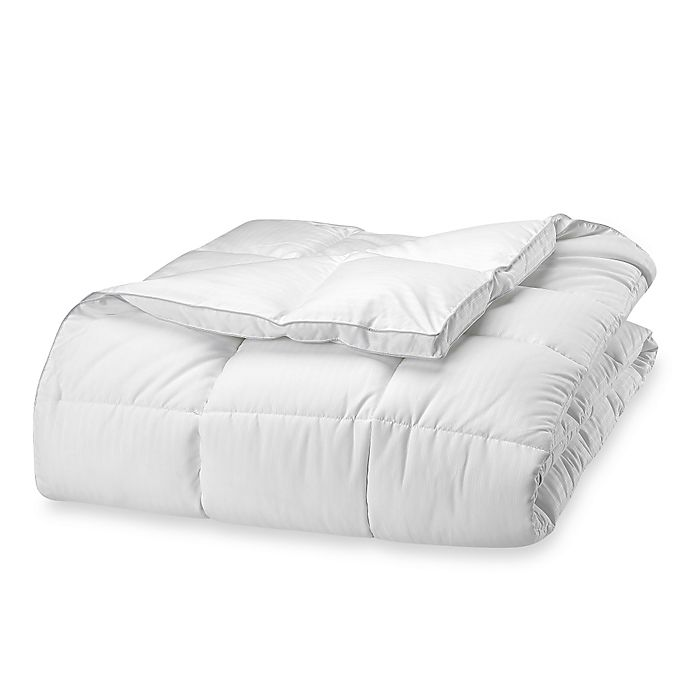 Alternate image 1 for Claritin® Ultimate Allergen Barrier Embossed Stripe Comforter