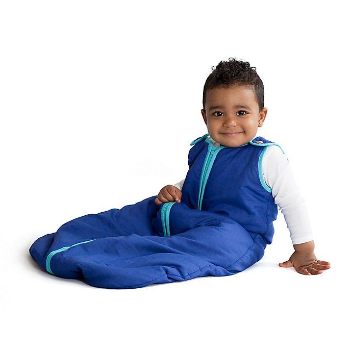 Alternate image 1 for Baby Deedee® Sleep Nest® Sleeping Bag in Peacock