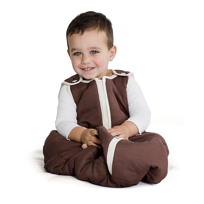 Alternate image 1 for Baby Deedee® Sleep Nest® Sleeping Bag in Soy Latte