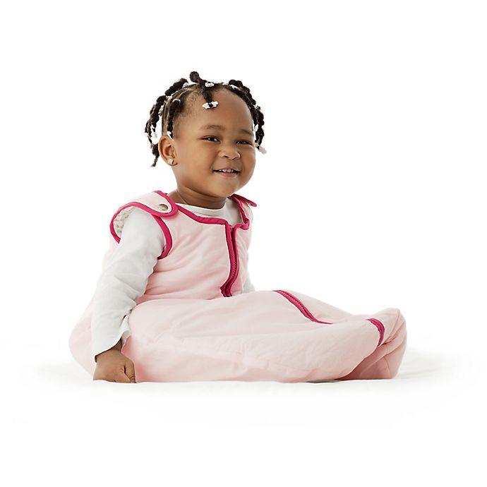 Alternate image 1 for Baby Deedee® Sleep Nest® Sleeping Bag in Sweet Pink