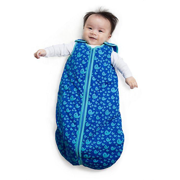 Alternate image 1 for Baby Deedee® Sleep Nest® Tee Sleeping Bag in Happy Whales