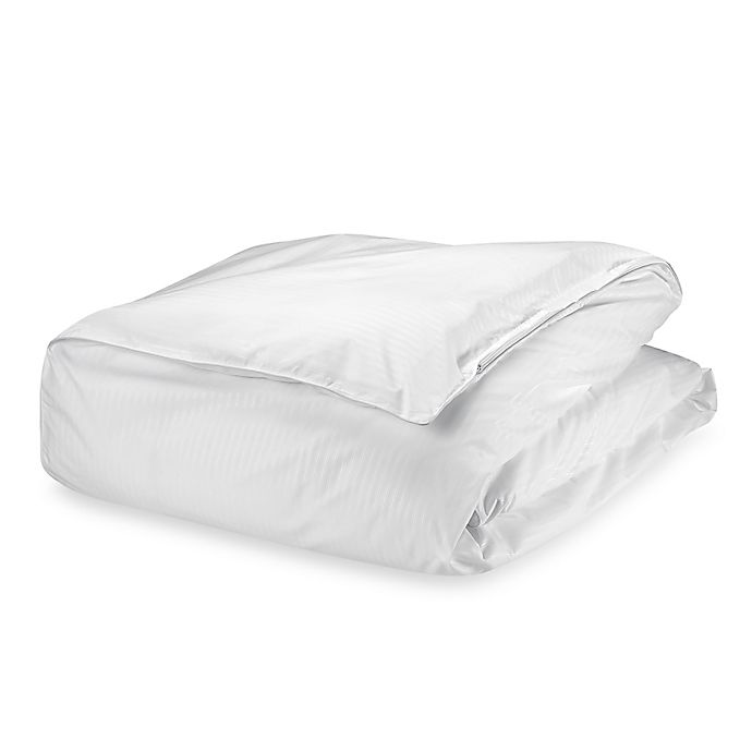 Claritin Ultimate Allergen Barrier Embossed Comforter Cover Bed