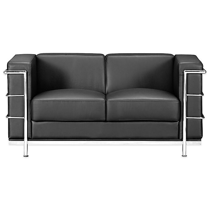 Zuo 174 Modern Fortress Loveseat Bed Bath Amp Beyond