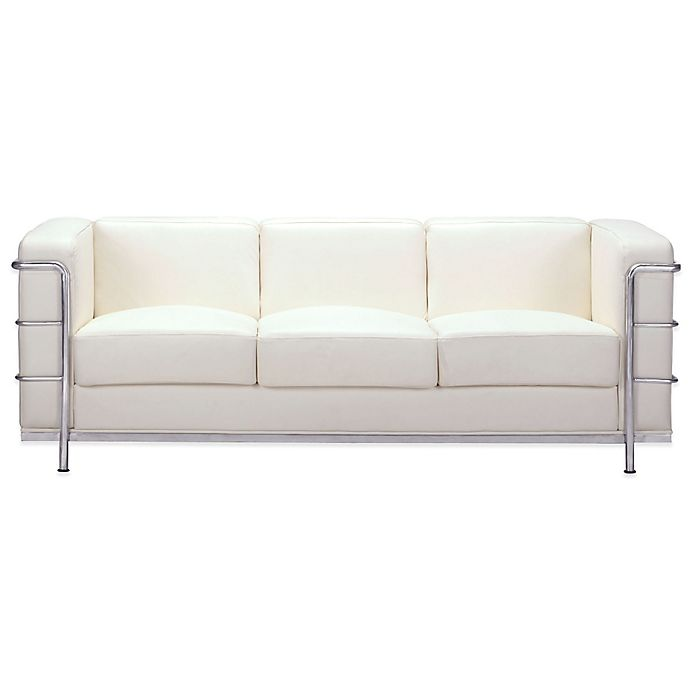 Alternate image 1 for Zuo® Modern Fortress Sofa in White