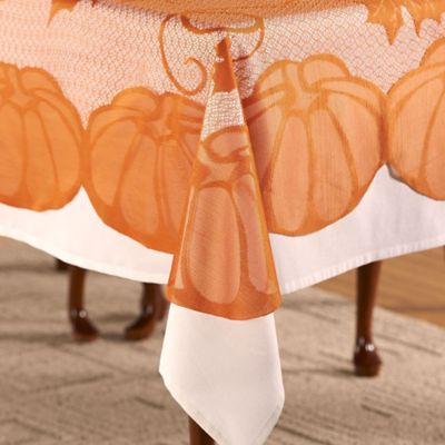 Pumpkins Tablecloth Bed Bath Amp Beyond