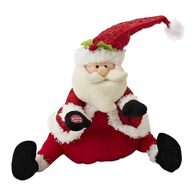 4311364aab5b2 Kurt Adler Battery-Operated Plush Singing and Dancing Santa