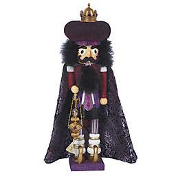 Kurt Adler Hollywood Purple King Nutcracker