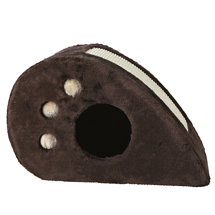 Alternate image 1 for TRIXIE Pet Products Topi Cat Condo in Chocolate