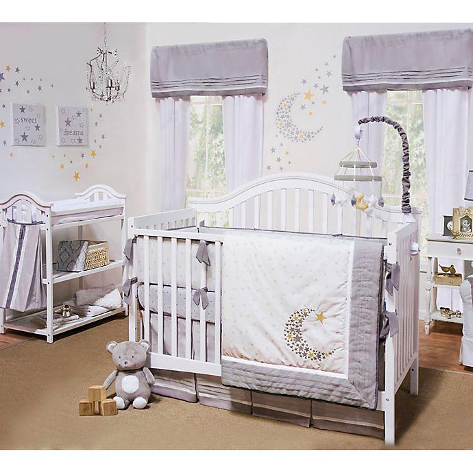 Alternate image 1 for Petit Tresor Nuit 4-Piece Crib Bedding Set