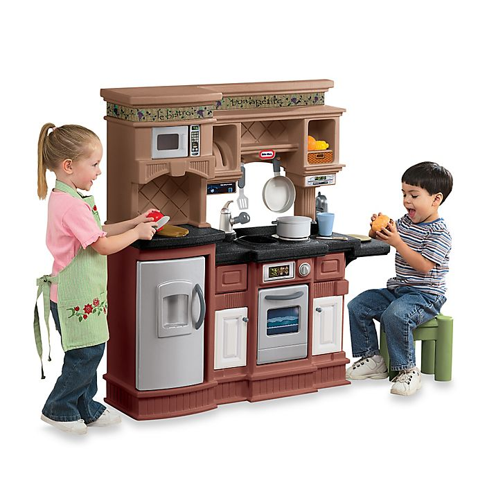 Alternate image 1 for Little Tikes® Gourmet Prep 'n Serve™ Kitchen