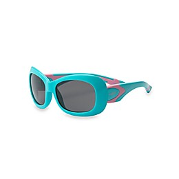 Real Kids Shades Breeze Polarized Sunglasses in Aqua/Pink