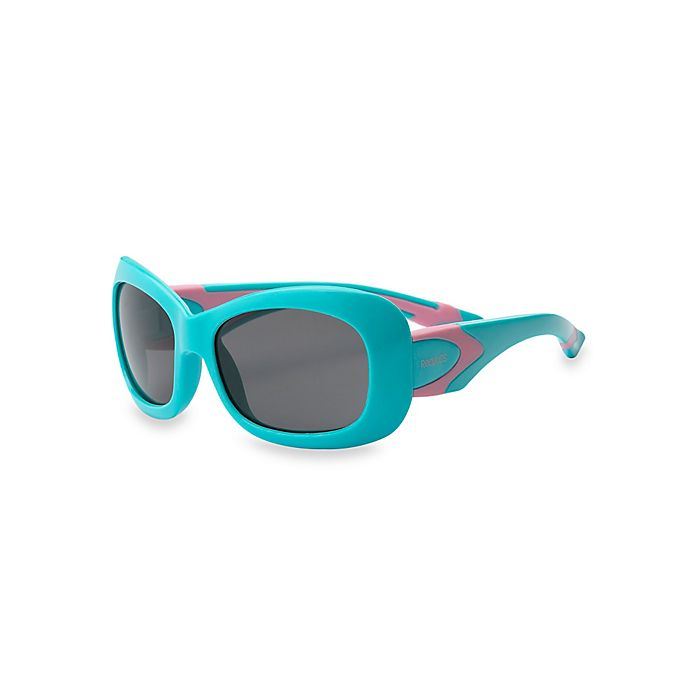 Alternate image 1 for Real Kids Shades Breeze Polarized Sunglasses in Aqua/Pink