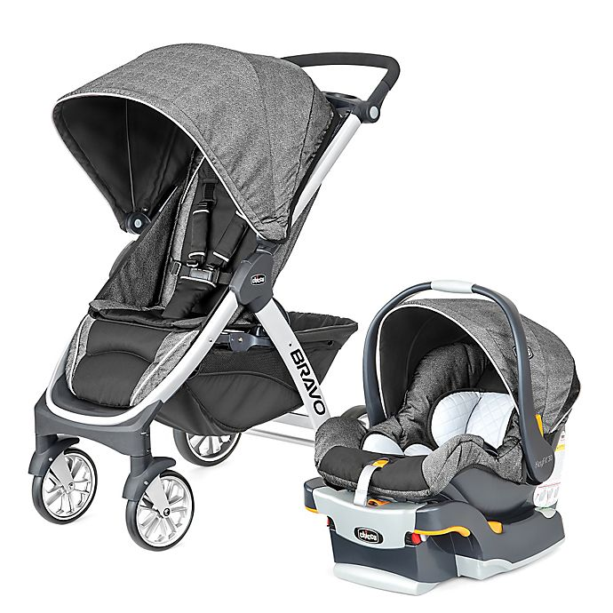 Alternate image 1 for Chicco® Bravo® Trio Travel System in Avena™
