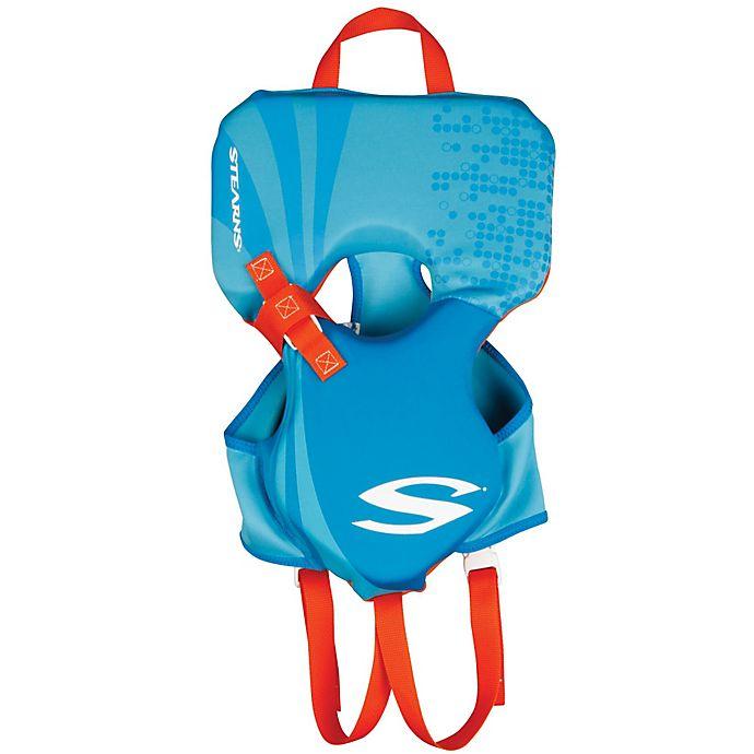 Alternate image 1 for Coleman® Stearns® Infant's Hydroprene™ Life Jacket in Blue/Orange