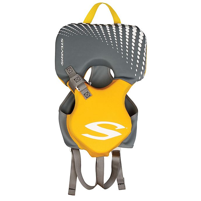 Alternate image 1 for Coleman® Stearns® Infant's Hydroprene™ Life Jacket in Yellow/Grey