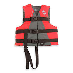 Coleman® Stearns® Child's Watersport Classic Nylon Life Vest in Red/Grey