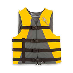 Coleman® Stearns® Child's Watersport Classic Nylon Life Vest in Yellow/Grey