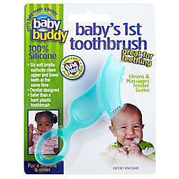 Baby Buddy Baby's 1st Toothbrush in Green