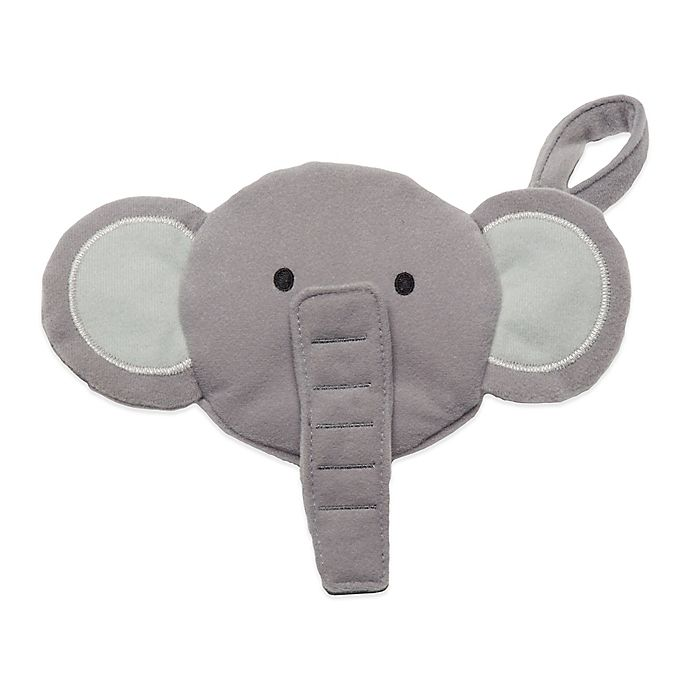Alternate image 1 for J.L. Childress Elephant Pacifier Pal Pacifier Pocket