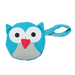 J.L. Childress Owl Pacifier Pal Pacifier Pocket in Teal