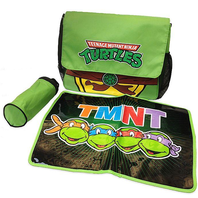 Alternate image 1 for Teenage Mutant Ninja Turtles Diaper Bag