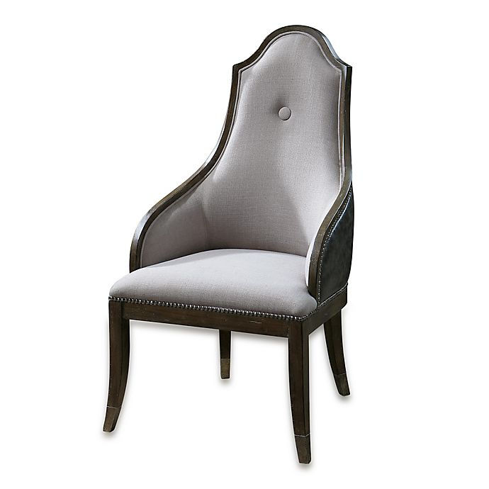 Prime Uttermost Sylvana Accent Chair In Grey Caraccident5 Cool Chair Designs And Ideas Caraccident5Info