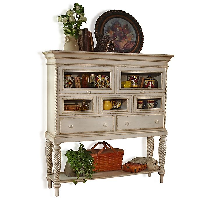 Craigslist White Kitchen Buffet: Hillsdale Wilshire Sideboard Cabinet In White