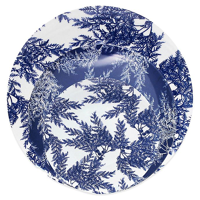 Alternate image 1 for Cedar Blue Melamine Dinnerware