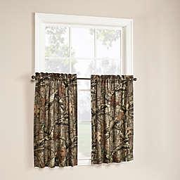 Mossy Oak Break Up Infinity 36-Inch Window Curtain Tier Pair