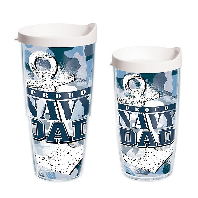 Alternate image 1 for Tervis® Proud Navy Dad Wrap Tumbler with Lid