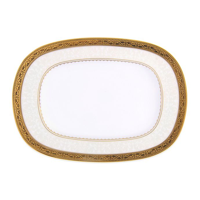Alternate image 1 for Noritake® Odessa Gold Butter/Relish Tray