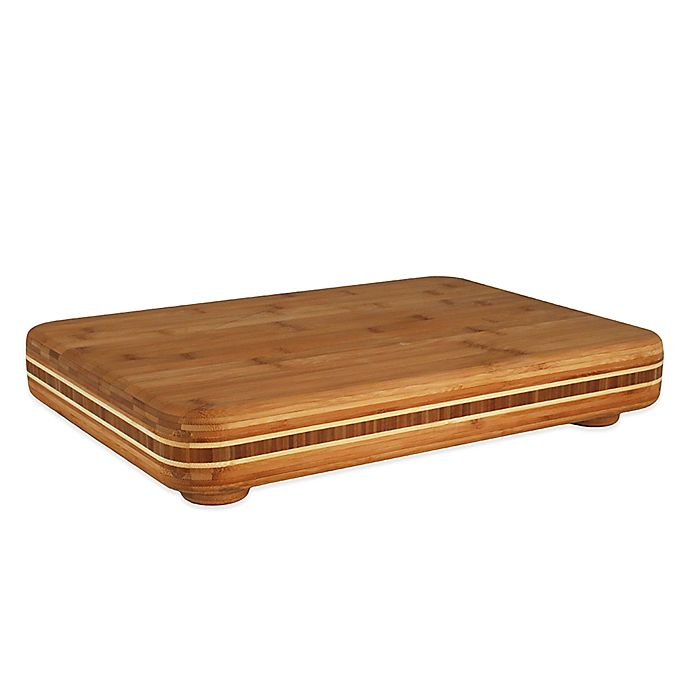 Alternate image 1 for Totally Bamboo 19-Inch x 13-Inch Big Easy Cutting Board