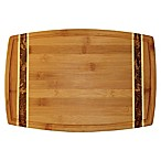 Totally Bamboo™ 15-Inch Marbled Bamboo Cutting Board