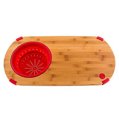 Fiesta® 24-Inch x 12-Inch Bamboo Colander Board