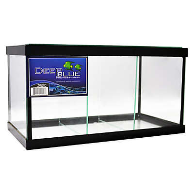Deep Blue Professional 1.9-Gallon 3-Way Betta Tank with Black Frame