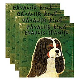 "Thirstystone® ""Cavalier King Charles Spaniel"" Coasters (Set of 4)"
