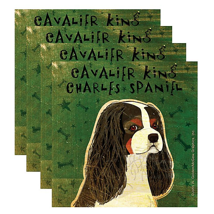 "Alternate image 1 for Thirstystone® ""Cavalier King Charles Spaniel\"