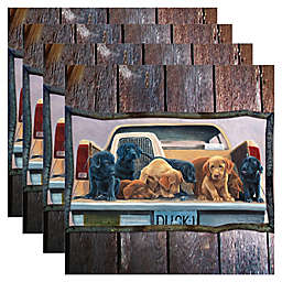 Thirstystone® Puppy Tailgate Coasters (Set of 4)