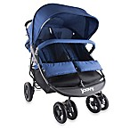 Joovy® ScooterX2 Double Stroller in Blueberry