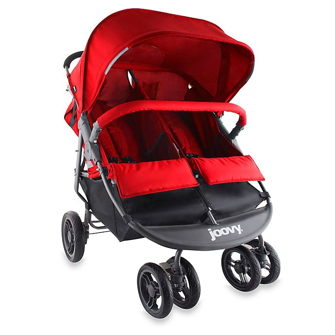 Alternate image 1 for Joovy® ScooterX2 Double Stroller in Red