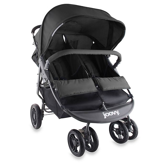 Alternate image 1 for Joovy® ScooterX2 Double Stroller in Black