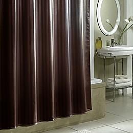 Damask Stripe Fabric Shower Curtain Liner